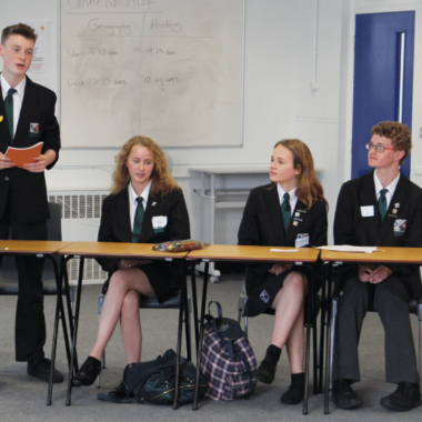 Ixworth compete in first ever Debating CTC