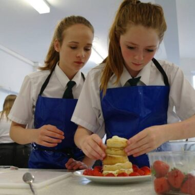 Ixworth Free School host a bake off that is fit for the Queen