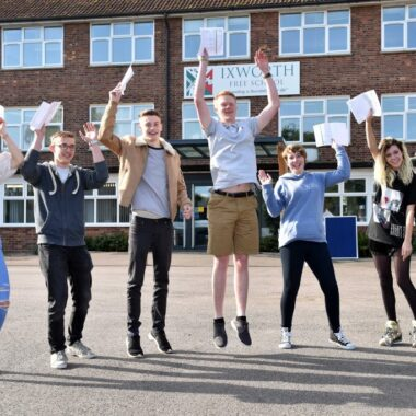 Ixworth Free School celebrates top results after first set of GCSEs