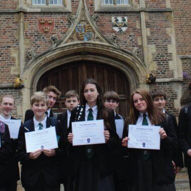 Ixworth Free School students graduate at Cambridge University