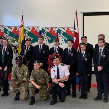 Ixworth Free School hosts community Armistice events